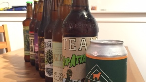 fresh hop beer yellow dog steamworks powell street dageraad strathcona off the rail phillips postmark