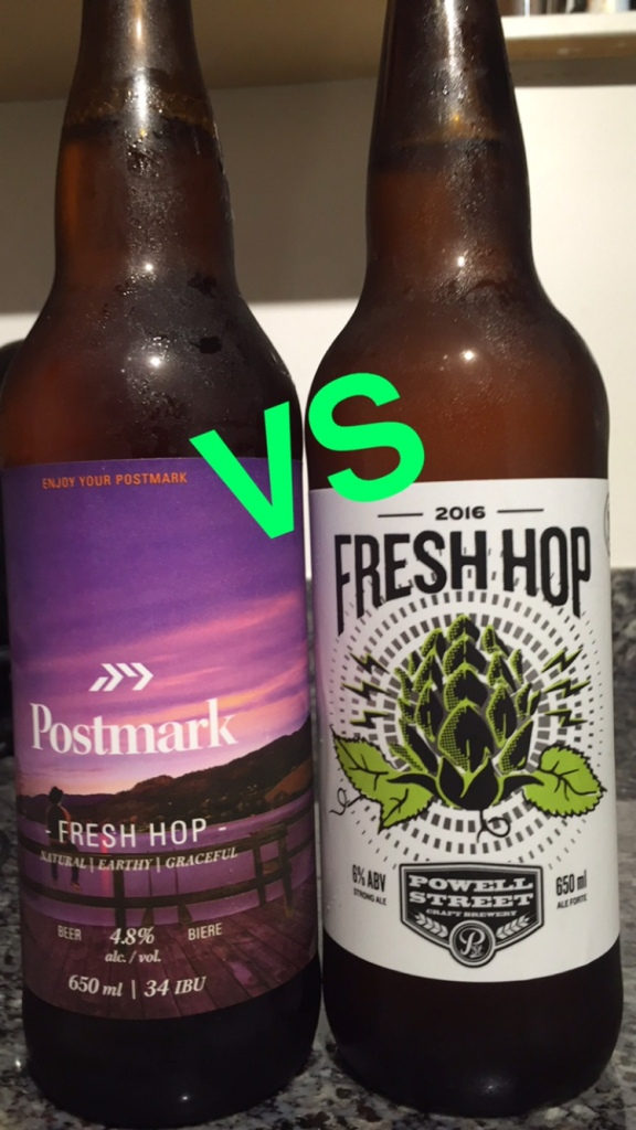 postmark brewing powell street brewing east vancouver yeastvan fresh hop craft beer vancouver
