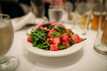 watermelon salad arugula craft beer Stanley Park Pavilion
