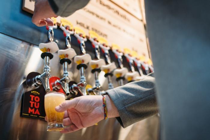 Andina Brewing Company; kolsch; totuma; Columbian; craft beer; B.C.