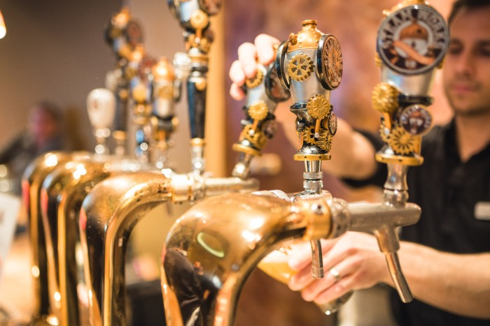 craft beer vancouver gastown steamworks brewing summer ale beer launch