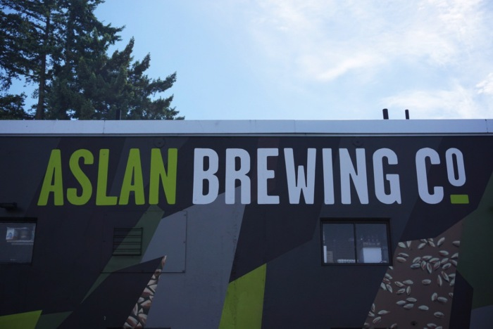 Aslan Brewing Co Bellingham craft beer brewery vanpours