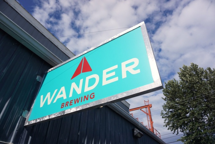 Wander brewing Bellingham craft beer