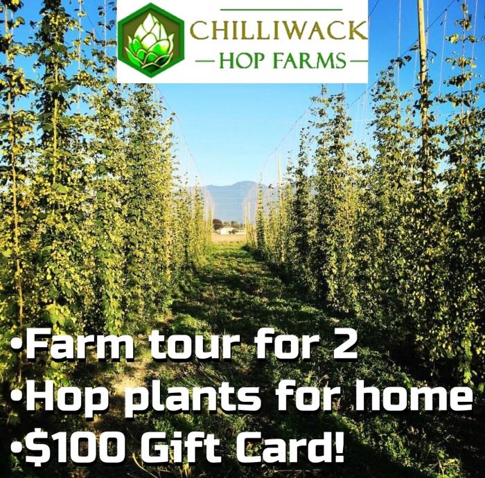 chilliwack hop farm craft beer vanpours crafttourist bccraftbreweries bccraftcares