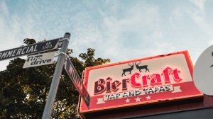 biercraft tap and tapas commercial drive vancouver craft beer trinity brewing rare craft beers vanpours beerthirst tap takeover