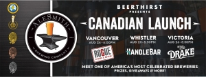 alesmith brewing beerthirst craft beer vancouver whistler victoria rogue kitchen and wetbar handlebar the drake vanpours