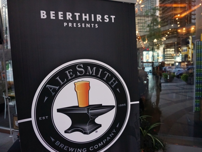 alesmith brewing craft beer san diego vanpours rogue kitchen & wetbar beerthirst