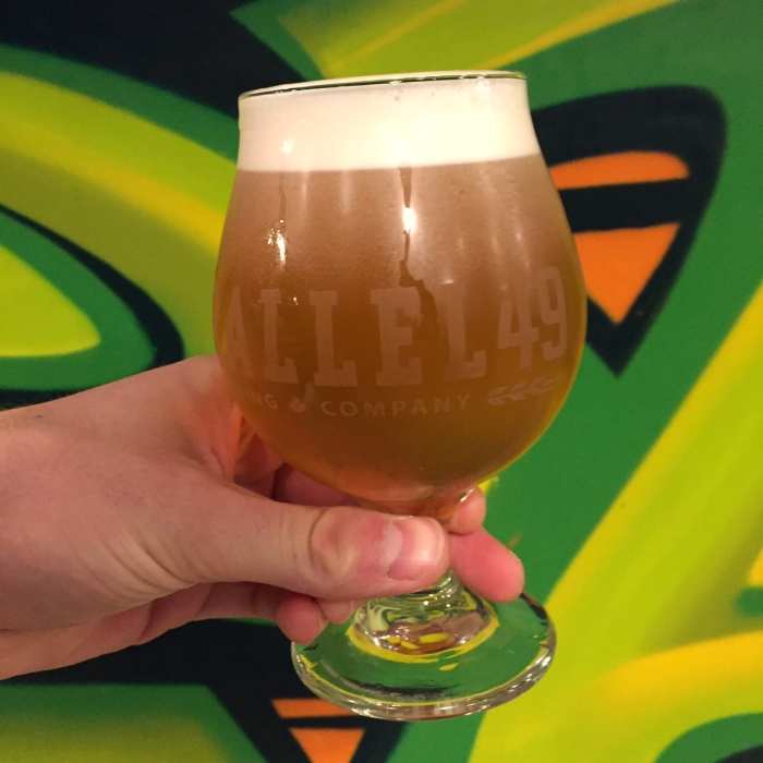 parallel 49 brewing TAPS Brewpub IPA vanpours 8x8 Brewing Project