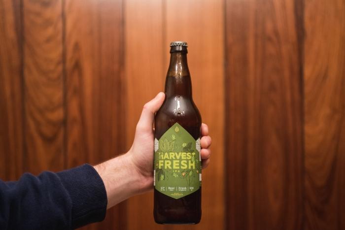 Mt. Arrowsmith Brewing fresh hop craft beer vanpours parksville qualicum beach