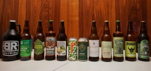 fresh hop craft beer bottle share vanpours