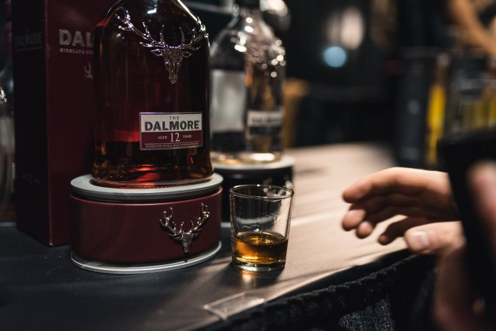 The Dalmore 12 Year Old Highland Single Malt Whiskey vanpours Hopscotch Festival