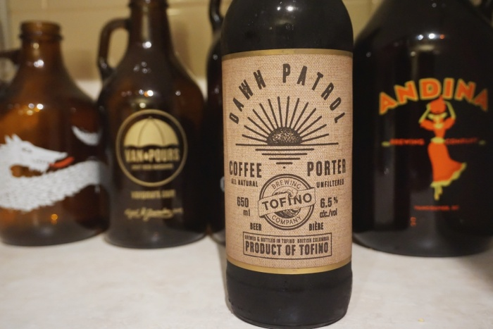 Tofino Brewing Co. Rhino Coffee House craft beer vancouver island vanpours