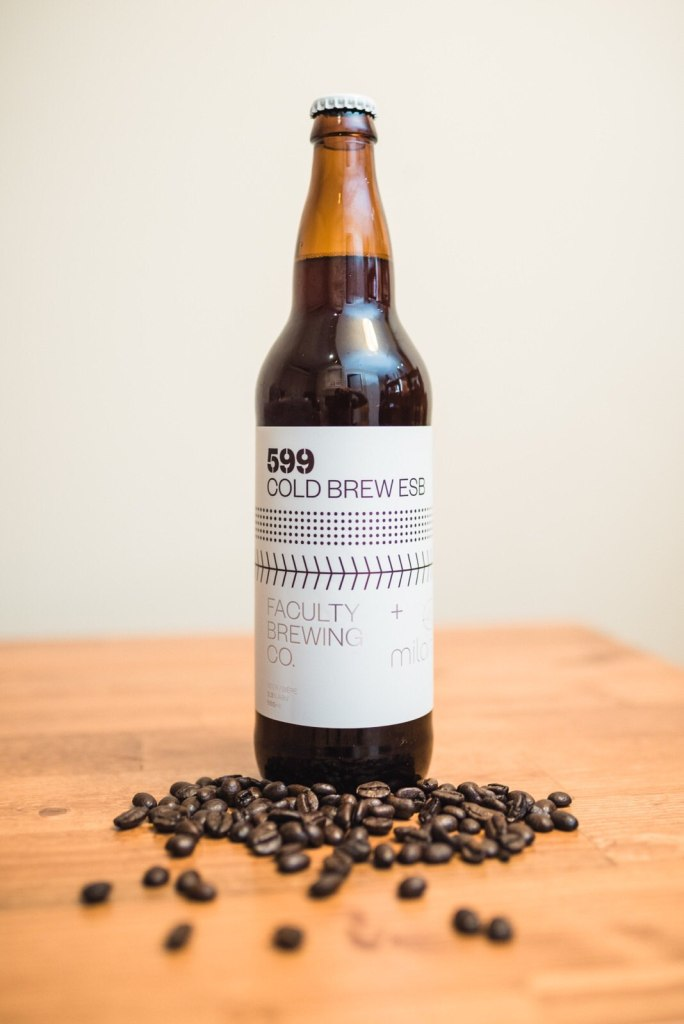Faculty Brewing Milano Coffee Roasters Cold Brew ESB craft beer vanpours