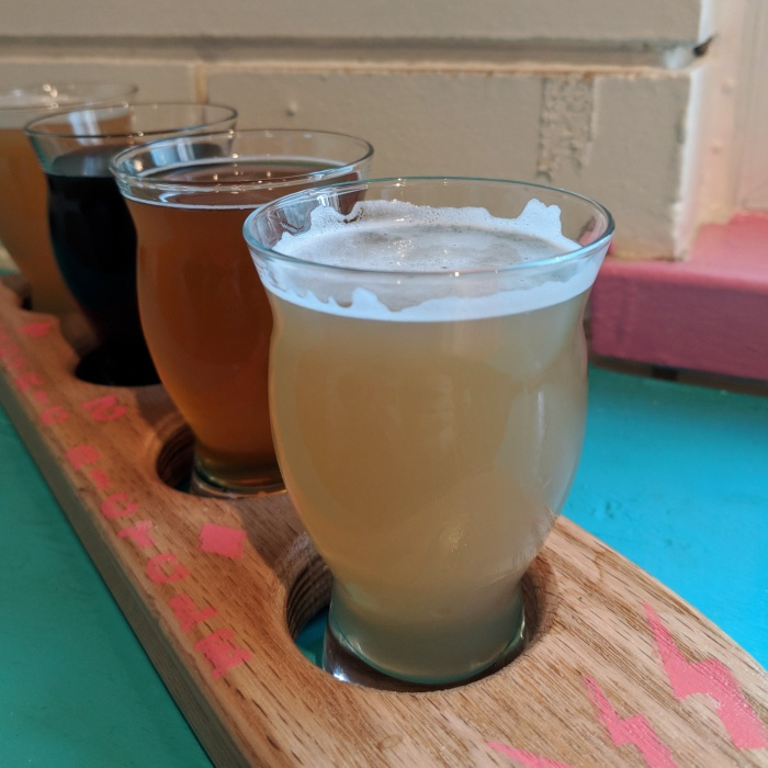 Electric Bicycle Brewing_Beer Flight