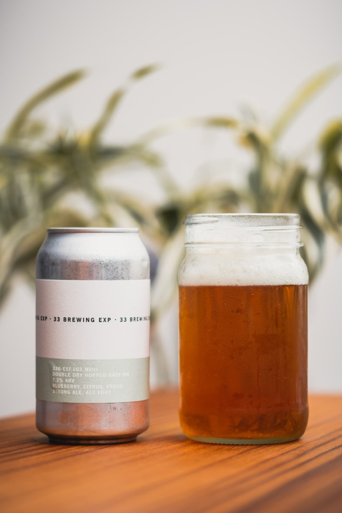 33 Brewing Exp hazy IPA 33 Acres Brewing Vancouver craft beer vanpours Van Pours Luke Mikler Photography
