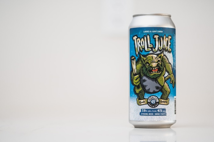Parallel 49 Brewing Troll Juice DIPA Vancouver craft beer vanpours Luke Mikler Photography